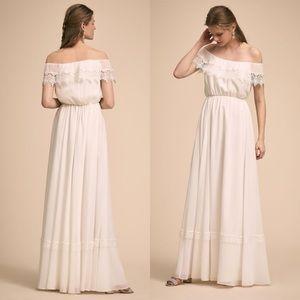 BHLDN x Wtoo by Watters Tati Dress Ivory